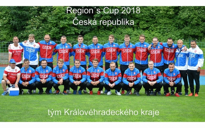 Region´s Cup 2018 - Česká republika vs Bosna a Hercegovina 4 : 0
